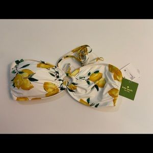 COPY - Kate Spade ♠️ Lemon Beach swim top M, miss…